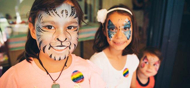 Rosie O Facepainting during Kids Birthday Parties