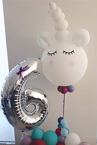 Unicorn Twisted Balloon - Kids Parties Perth