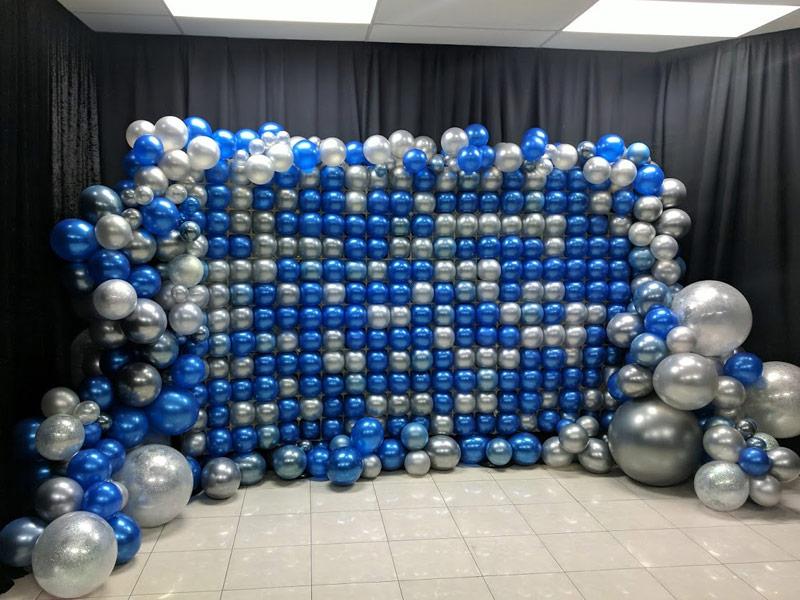 Corporate Balloon Wall