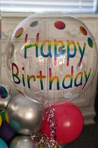 balloon photo frame - Rosie O Birthday Parties