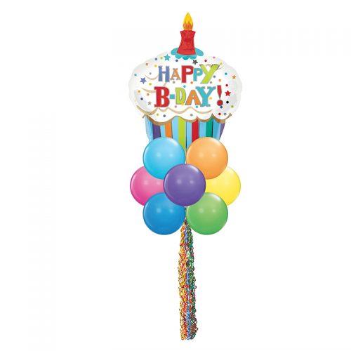 Happy Birthday Yard Art