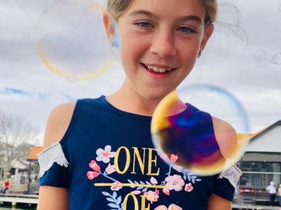 Kids bubble fun