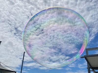 Amazing Bubble shows